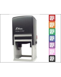 Teacher Property of Stamp Numbers   stamp custom return address self inking stamp great for stationary, weddings, invitations.