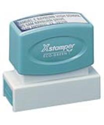 "Utah notary pre-inked X-Stamper conforms to state laws. Violet ink size 5/8"" x 2-1/2"" X stamper- Just Made Better"