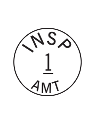 Custom Inspection Stamp