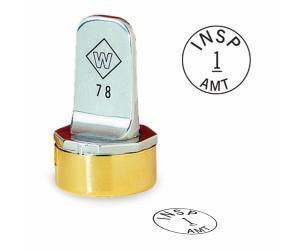 Custom Inspection Stamp- Neoprene