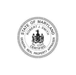 Maryland General Real  Estate Property Appraiser