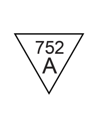 Inspection Stamps Triangle