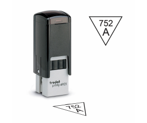 Inspection Stamps Trodat Triangle