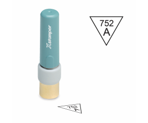 Inspection Stamps X-Stamper Triangle