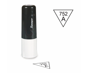 Inspection Stamps Non-porous Triangle
