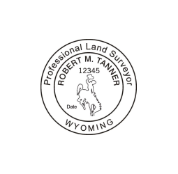 Wyoming Professional Land Surveyor Seal