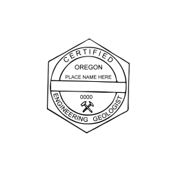 Oregon Certified Engineer Geologist Seal