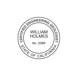 California Engineering Geologist Seal