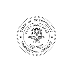 Connecticut Professional Engineer Seal