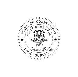 Connecticut Licensed Land Surveyor Seal