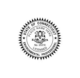 Connecticut Environmental Professional Seal