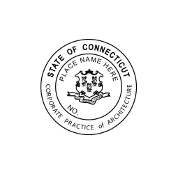 Connecticut Architect-Corporate Seal