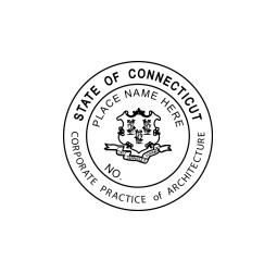 Connecticut Architect-Corporate Seal