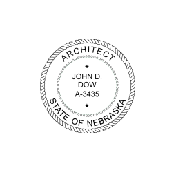 Nebraska Architect Seal