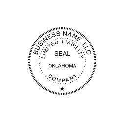 Oklahoma Limited Liability Company Seal