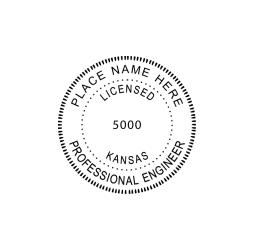 Kansas Professional Engineer Seal