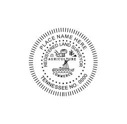 Tennessee Registered Land Surveyor Seal