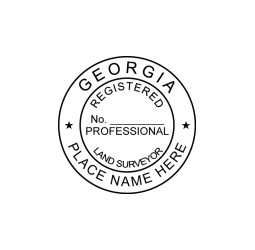 Georgia Registered Land Surveyor Seal