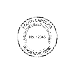 South Carolina Professional Engineer Seal