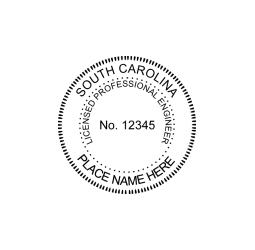 South Carolina Professional Engineer Seal
