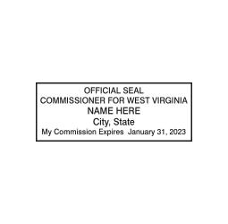 West Virginia Commissioner Seal