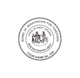 West Virginia Forester Seal