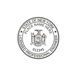 New York Professional Engineer Seal