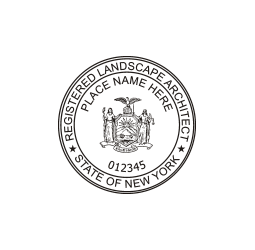 New york professional seals for New york state architect stamp