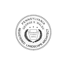 Pennsylvania Landscape Architect Seal