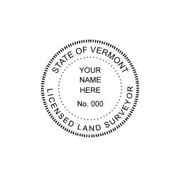 Vermont Licensed Land Surveyor Seal