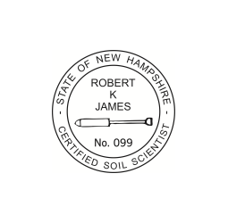 New Hampshire Certified Soil Scientist Seal
