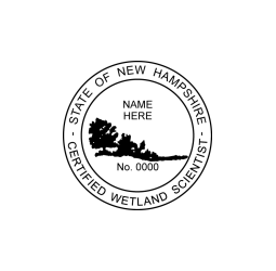 New Hampshire Certified Wetland Scientist Seal