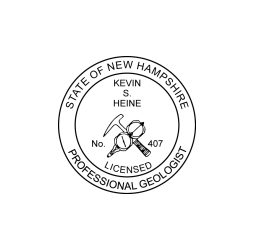 New Hampshire Professional Geologist Seal