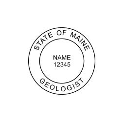 Maine Geologist Seal