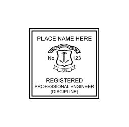 Rhode Island Professional Engineer Seal
