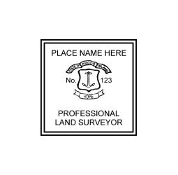 Rhode Island Professional Land Surveyor Seal
