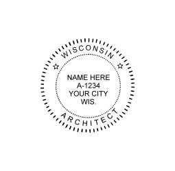 Wisconsin Architect Seal