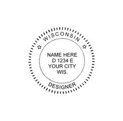 Wisconsin Designer Seal