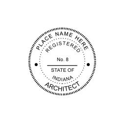 Indiana Architect Seal