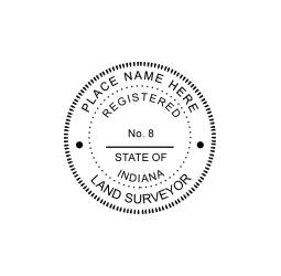 Indiana Land Surveyor Seal