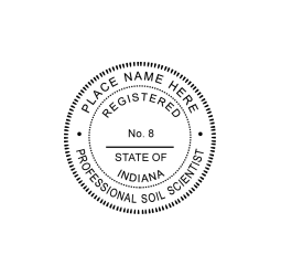 Indiana Professional Soil Scientist Seal
