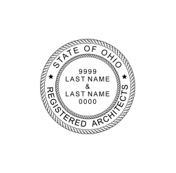 Ohio Registered Architects Seal