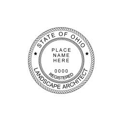 Ohio Landscape Architect Seal