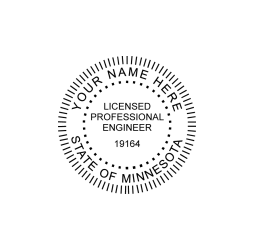 Minnesota Professional Engineer Seal