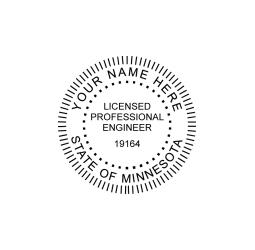 Minnesota Professional Engineer Seal