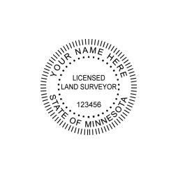 Minnesota Licensed Land Surveyor Seal