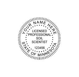 Minnesota Professional Soil Scientist Seal