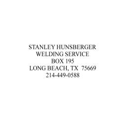 5 Line Address Stamps