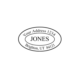 Specialty Address Stamp