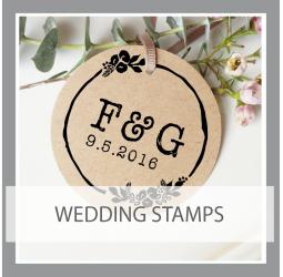 Wedding and Monogram Stamps